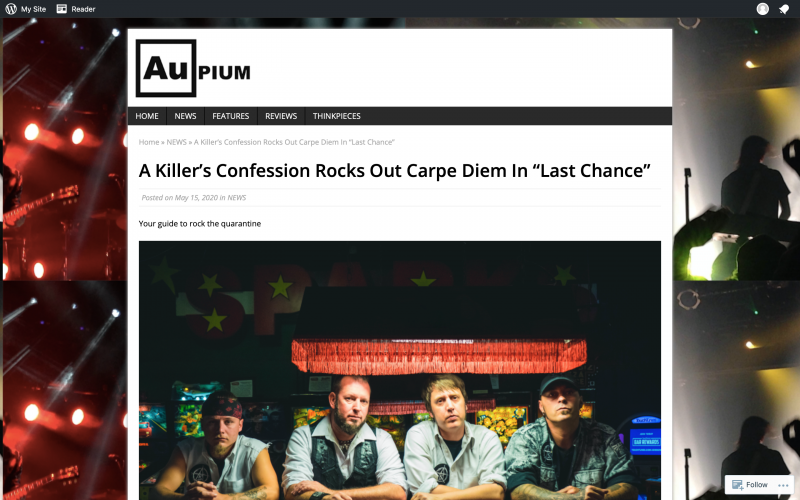 AuPium review of 'Last Chance' single