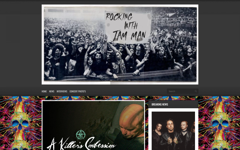 Rocking With Jam Man interviews with Waylon Reavis