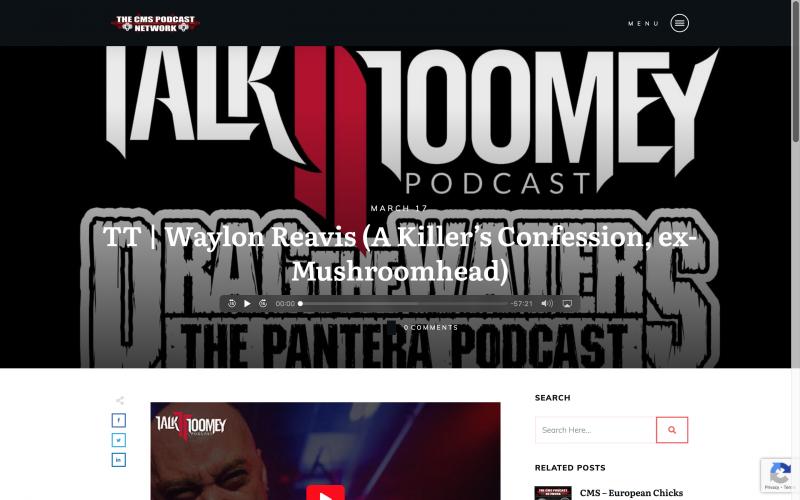 TalkToomey Interview with Waylon Reavis by Josh Toomey